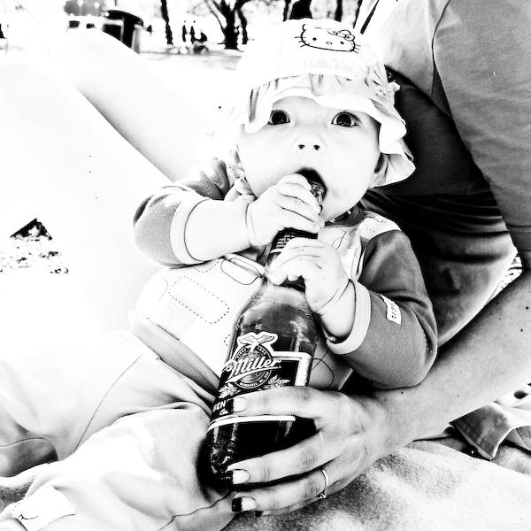 Söt och glad bebis... :D